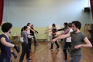 First Musketeer Rehearsals